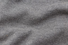 Gray fabric as the background Royalty Free Stock Photography