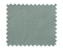 Gray fabric swatch samples isolated on white Stock Photography
