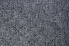 Gray fabric texture background Royalty Free Stock Photos