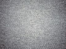 Gray Fabric Texture scuro Fotografia Stock