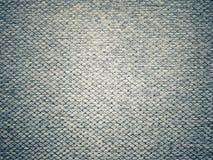 Gray Fabric Texture scuro Fotografia Stock Libera da Diritti