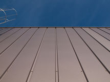 Gray facade. Of a building in the Netherlands Royalty Free Stock Photos