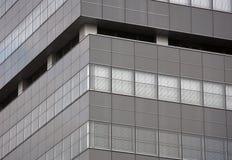 Gray facade royalty free stock photos