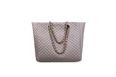 Gray female bag-2 Stock Photo