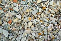 Gray finishing stone Royalty Free Stock Images