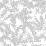 GRAY FIR BRANCH DECORATION TEXTURE. CHRISTMAS SEAMLESS PATTERN VECTOR stock illustration