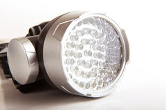 Gray Flashlight Stock Image