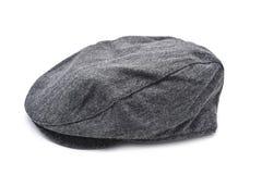 Gray flat cap Royalty Free Stock Photos
