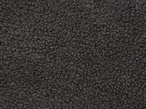 Gray Fleece Material Up Close oscuro fotos de archivo libres de regalías