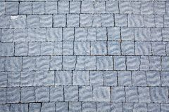 Gray Tiles Background Royalty Free Stock Photography