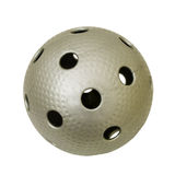 Gray Floorball. Ball isolated on a white background Stock Photos