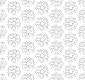 Gray floral pattern. Seamless for backdrop Royalty Free Stock Photo