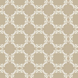 Gray floral seamless pattern Stock Image