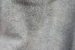 Gray fluffy background of soft wool Royalty Free Stock Photography