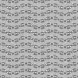 Gray Football Tile Pattern Repeat Background Royalty Free Stock Photo