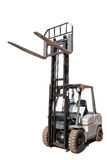 Gray Forklift Cruck Royalty Free Stock Photos