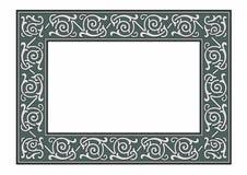 Gray frame. Vector illustration of a fantasy frame, EPS 10 file Stock Photography