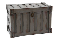 Gray freight containers Stock Photography