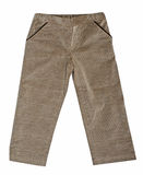 Gray fustian pants Stock Photo
