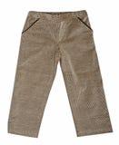 Gray fustian pants Stock Photo