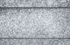 Gray galvanized steel sheet, background texture Royalty Free Stock Photo