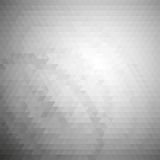 Gray geometric background, abstract triangle Royalty Free Stock Photos