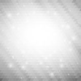 Gray geometric background, abstract triangle Stock Photo