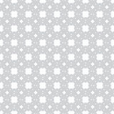 Gray geometric objects on a white background seamless pattern vector illustration Royalty Free Stock Photography