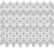 Gray Geometric Pattern abstrait Images libres de droits