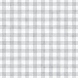 Gray Gingham Fabric Background Imagem de Stock Royalty Free