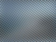 Gray glass tile Royalty Free Stock Photo