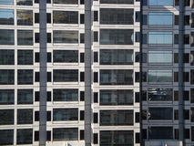 Gray Glass Windowed Office Building Royalty Free Stock Image