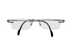Gray glasses Stock Images