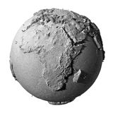Gray Globe - Africa Stock Photos