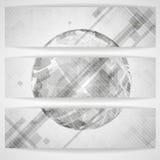 Gray Globe Design. Imágenes de archivo libres de regalías