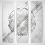Gray Globe Design. Fotografia Stock Libera da Diritti