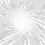 Gray glowing lowpoly burst explosion. Vector illustration for decoration with poligonal rays. Abstract background. Template for an Stock Photos