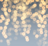 Gray and golden luminous background. Festive gray and golden luminous background. Vector illustration Stock Photography