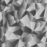 Gray gradient low poly background. Geometric polygonal pattern. Vector. Gray gradient low poly background. Geometric polygonal pattern. Abstract background for Royalty Free Stock Photos