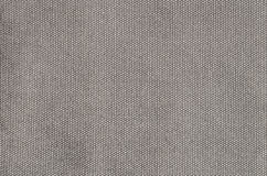 Gray grained cotton background Stock Photos
