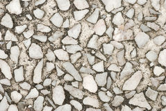 Gray granite gravel background Stock Image