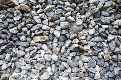 Gray granite gravel background texture Stock Images