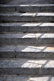 Gray granite staircase Royalty Free Stock Photos
