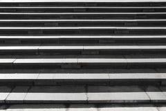 Gray granite stone steps Royalty Free Stock Photo