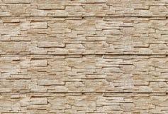 Gray granite wall. Gray granite stone brick wall background, seamless tiling Royalty Free Stock Photo