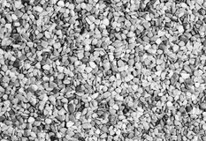 Gray Gravel for Background Royalty Free Stock Photos