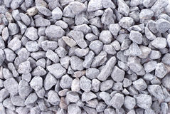 Gray Gravel for Background Royalty Free Stock Images