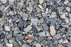 Gray gravel. Royalty Free Stock Images