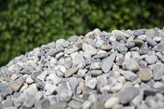 Gray gravel Stock Images
