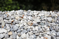 Gray gravel Stock Photos